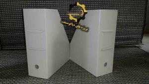 زونکن فلزی-فایل باکس فلزی